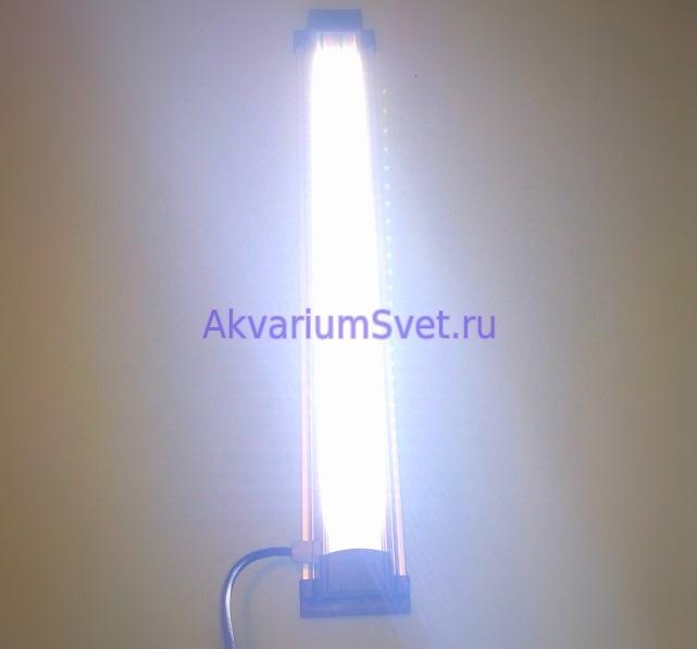 Тестирование светильника.