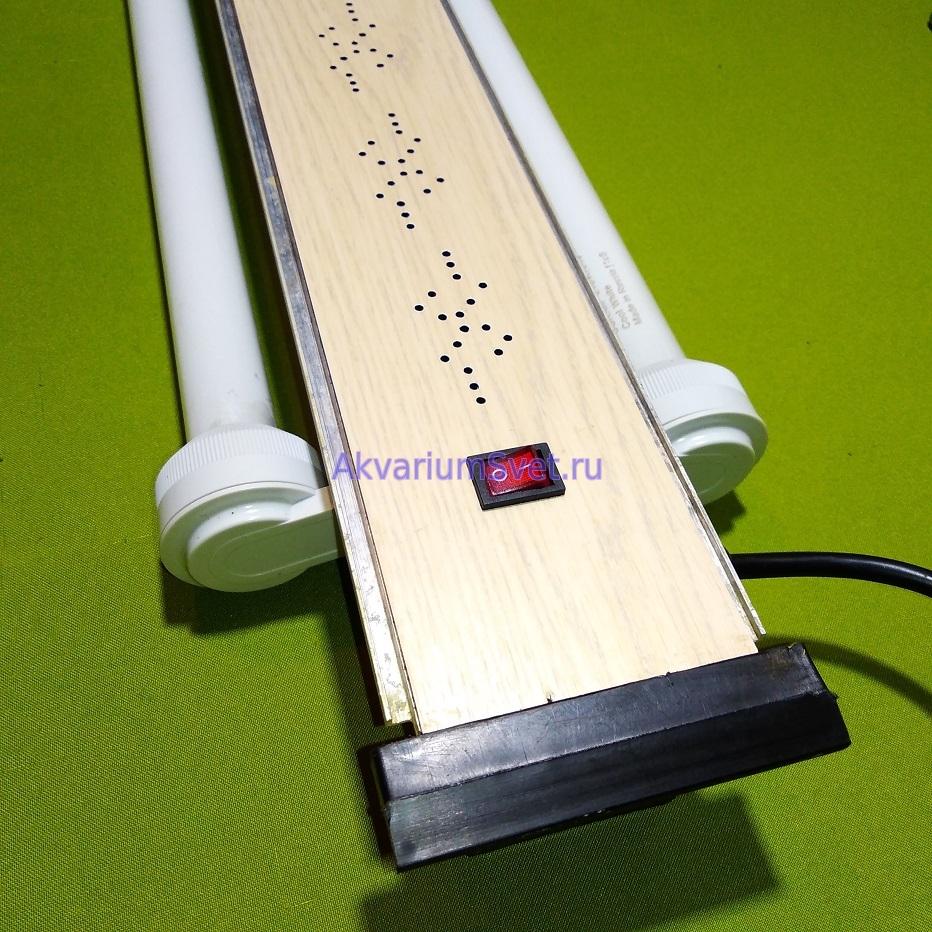 Просверлил вентиляционные отверстия во избежание образования конденсата.