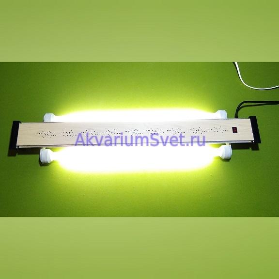 Тест отремонтированного светильника.