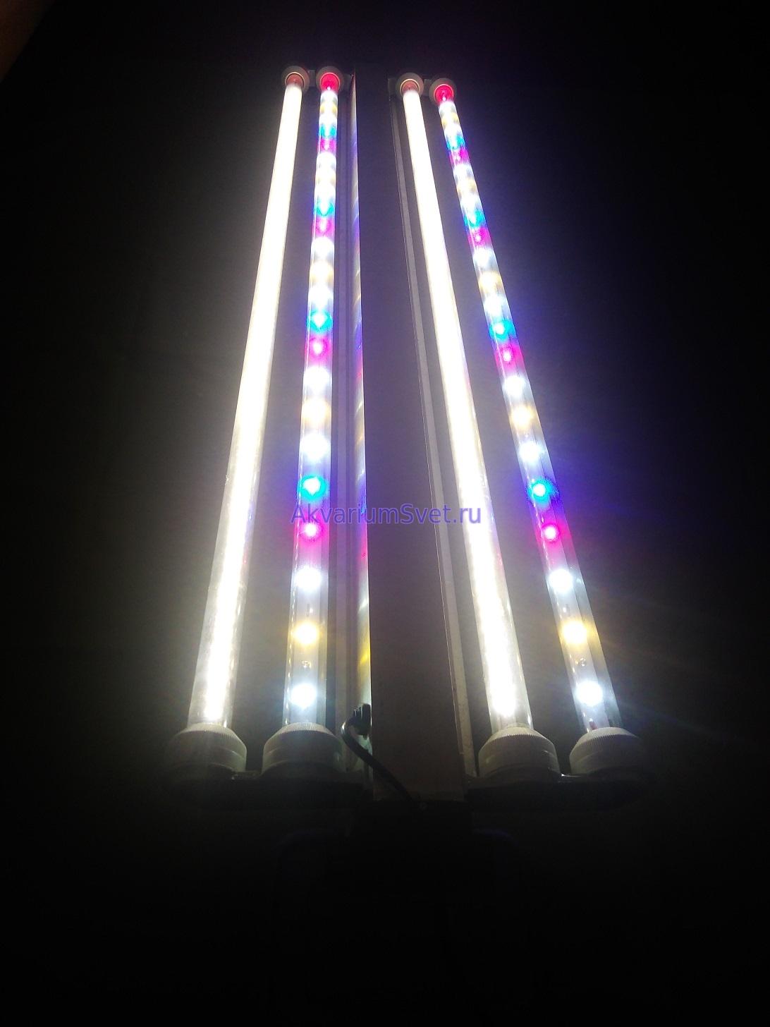 Светодиодные лампы в деле