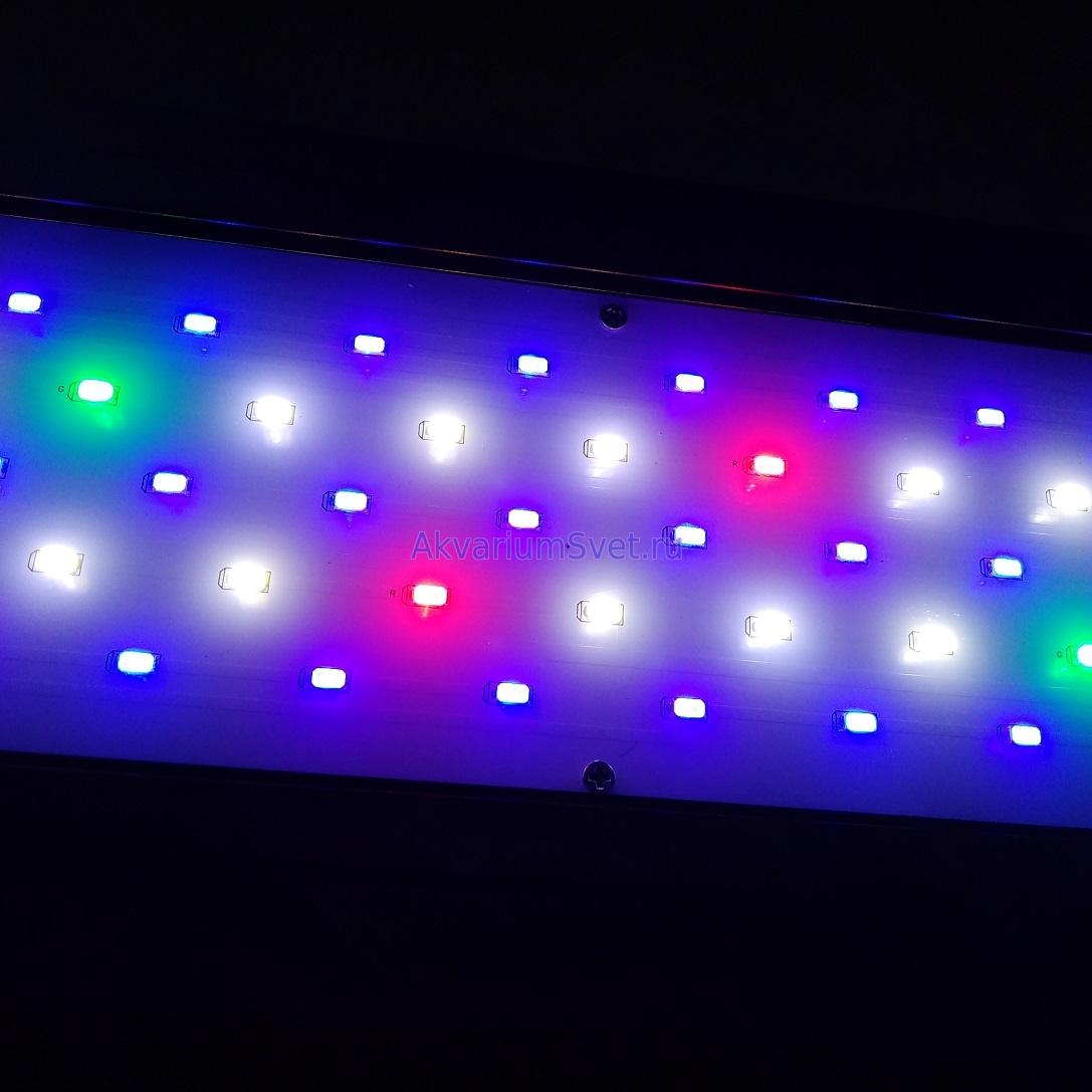 Работоспособность светильника полностью восстановлена.