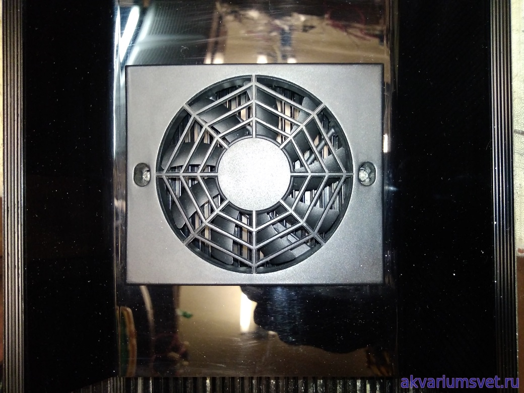 Внешний вид одного из восстановленных вентиляторов.